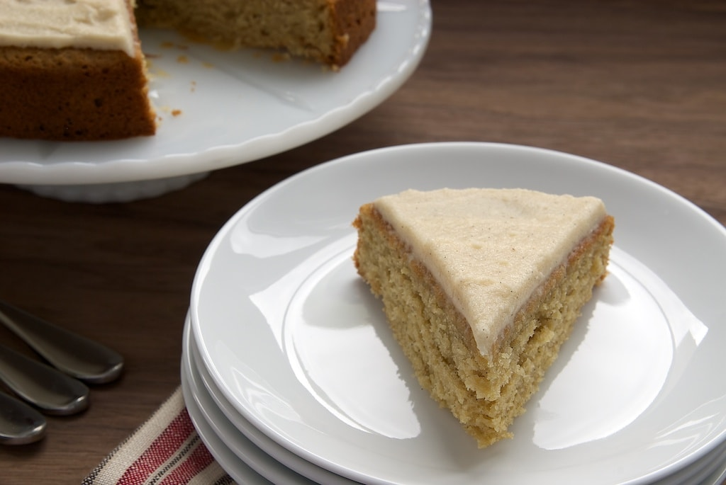 Vanilla Bean Cake with Browned Butter Icing | Bake or Break