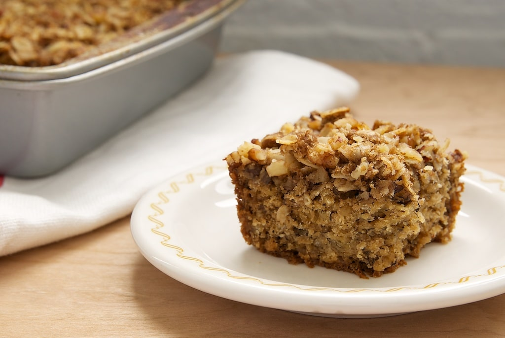 Banana Oatmeal Crumb Cake | Bake or Break
