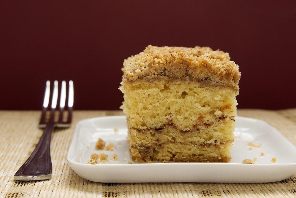 Sour Cream Coffee Cake with Chocolate Cinnamon Swirl | Bake or Break