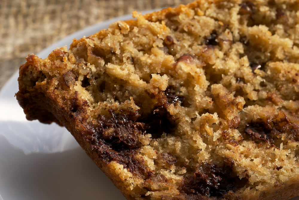 Chocolate Chip Oatmeal Quick Bread | Bake or Break