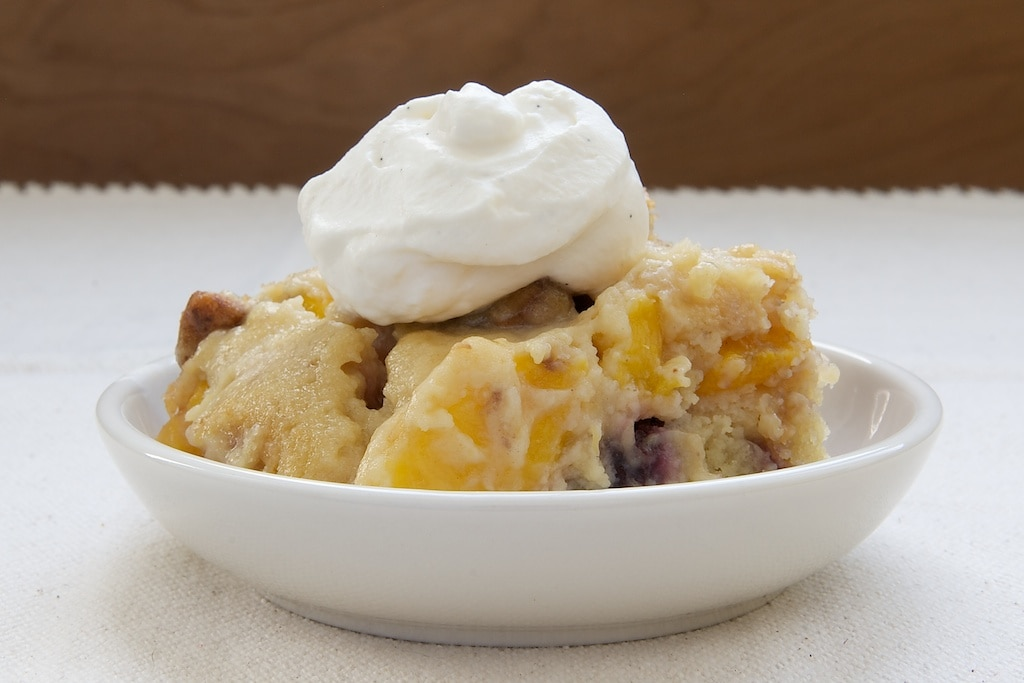 Blackberry Peach Cobbler | Bake or Break