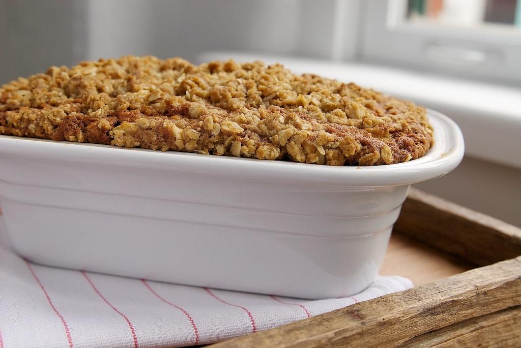 Rhubarb Crumb Bread | Bake or Break