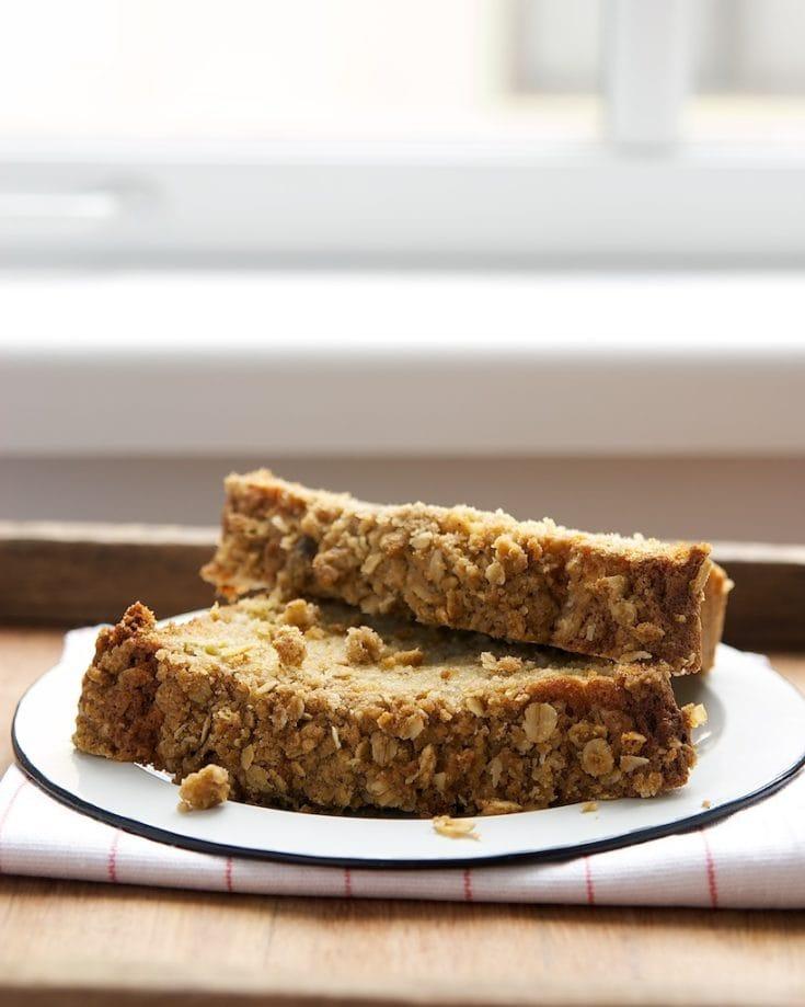 Rhubarb Crumb Bread