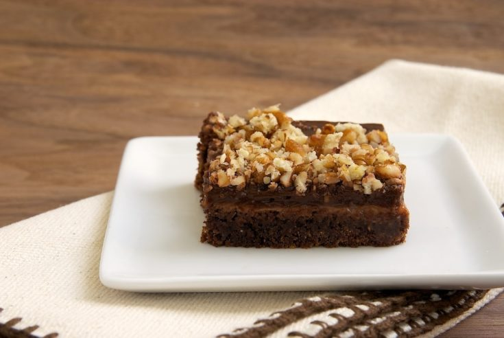 Chocolate-Caramel Pudding Bars