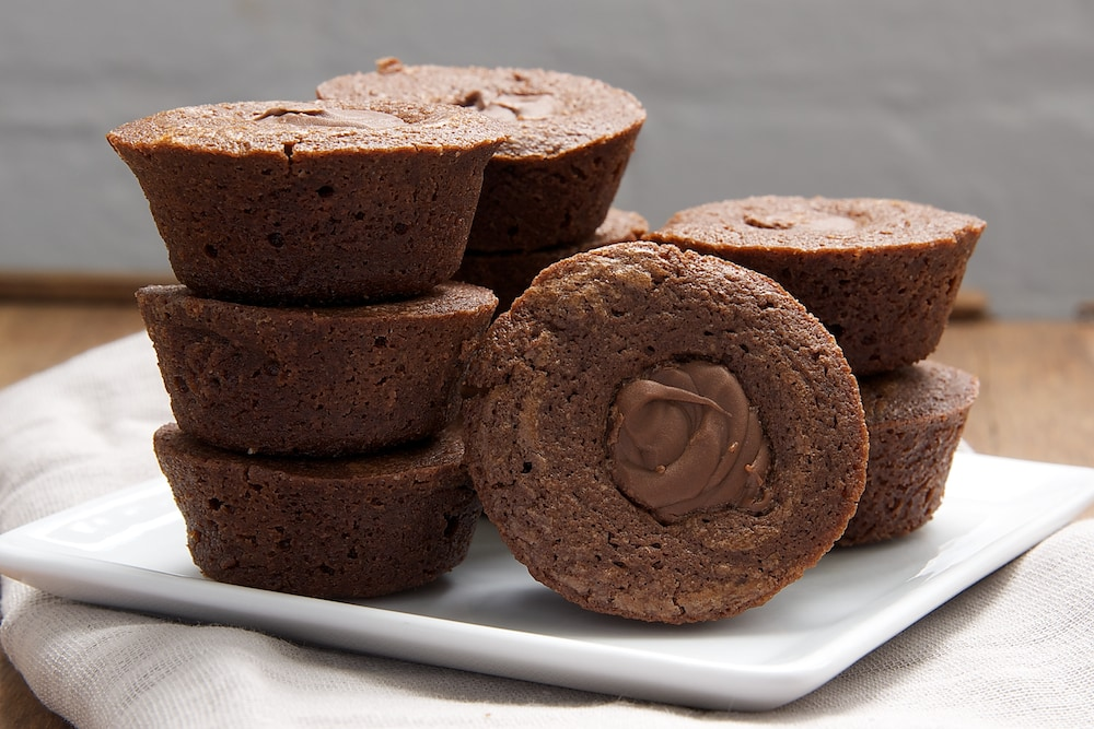 Chocolate Hazelnut Brownie Cups | Bake or Break