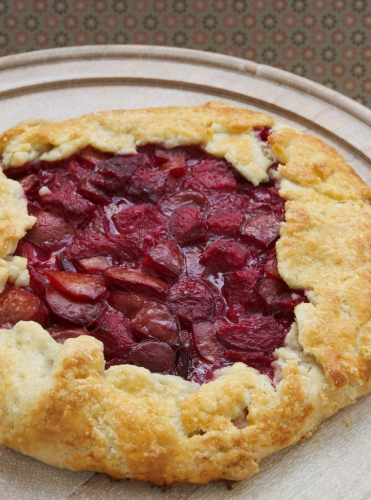 Simplify pie baking with this easy Plum and Almond Crostata that's full of amazing flavor! - Bake or Break