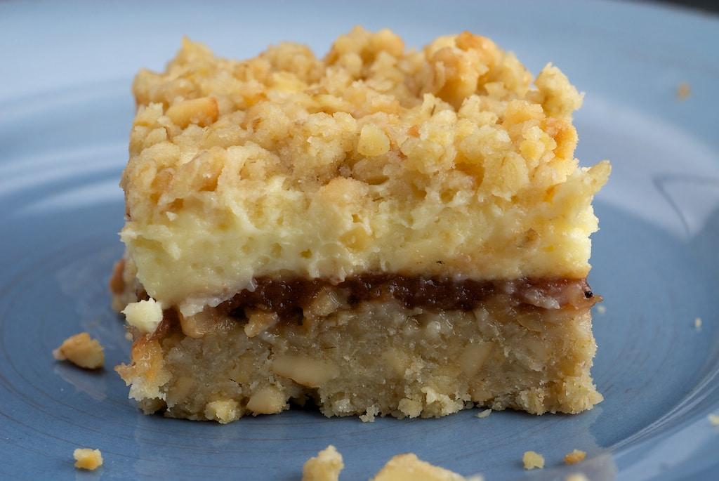 Cream Cheese and Oat Bars   Bake or Break