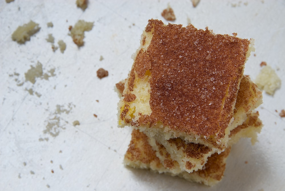 Cinnamon Sugar Cookie Bars | Bake or Break