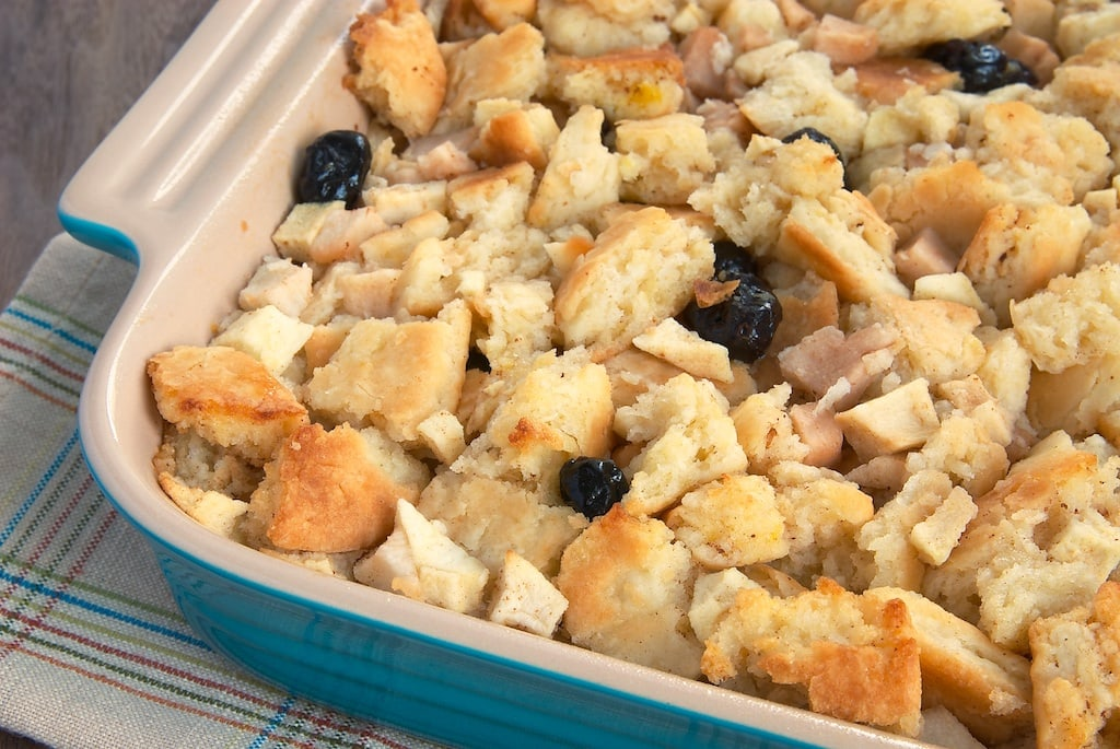 Apple, Pear, and Cranberry Biscuit Pudding | Bake or Break