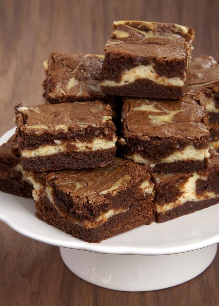 Bourbon Cream Cheese Brownies | Bake or Break