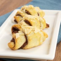 Chocolate Almond Roll-Ups are so good and so simple to make!