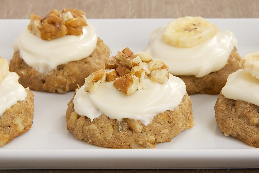 Hummingbird Oatmeal Cookies served on a white plate