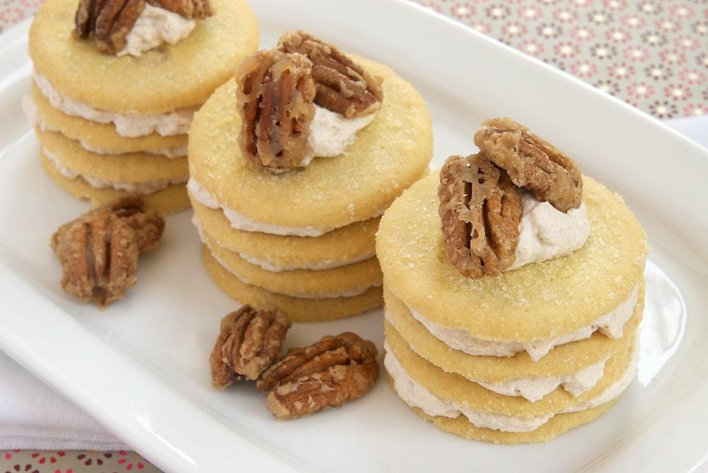 Cinnamon-Shortbread Icebox Cookie Stacks | Bake or Break