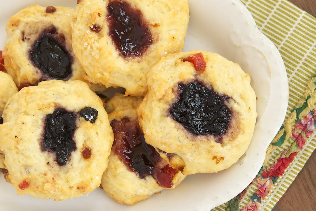 Berry and Cream Thumbprint Scones   Bake or Break