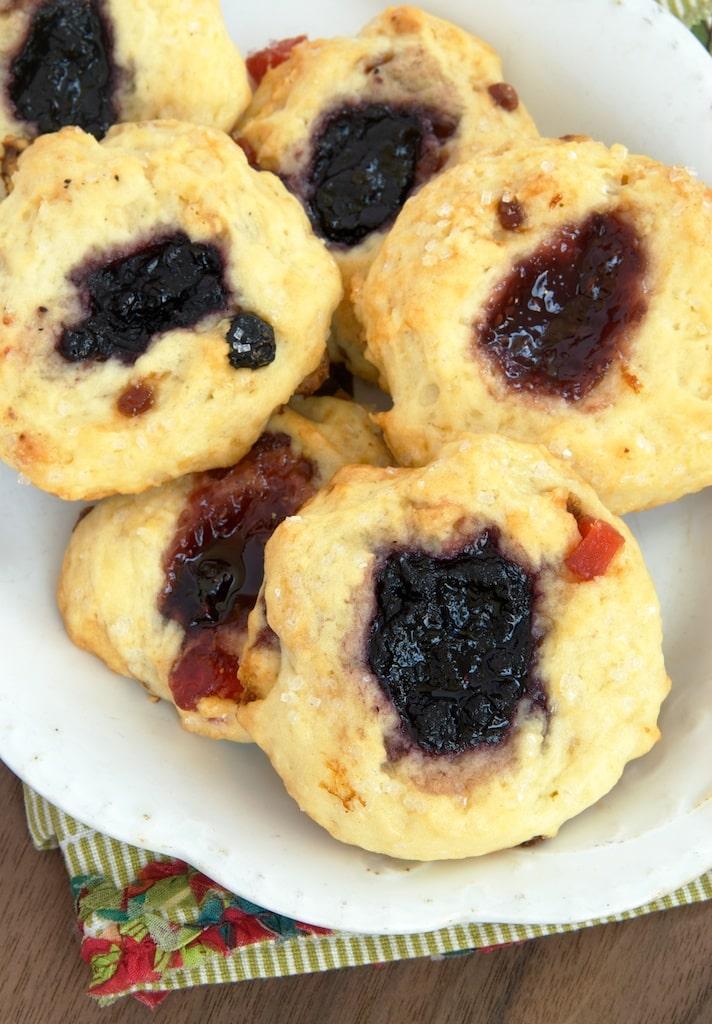 Berry and Cream Scones