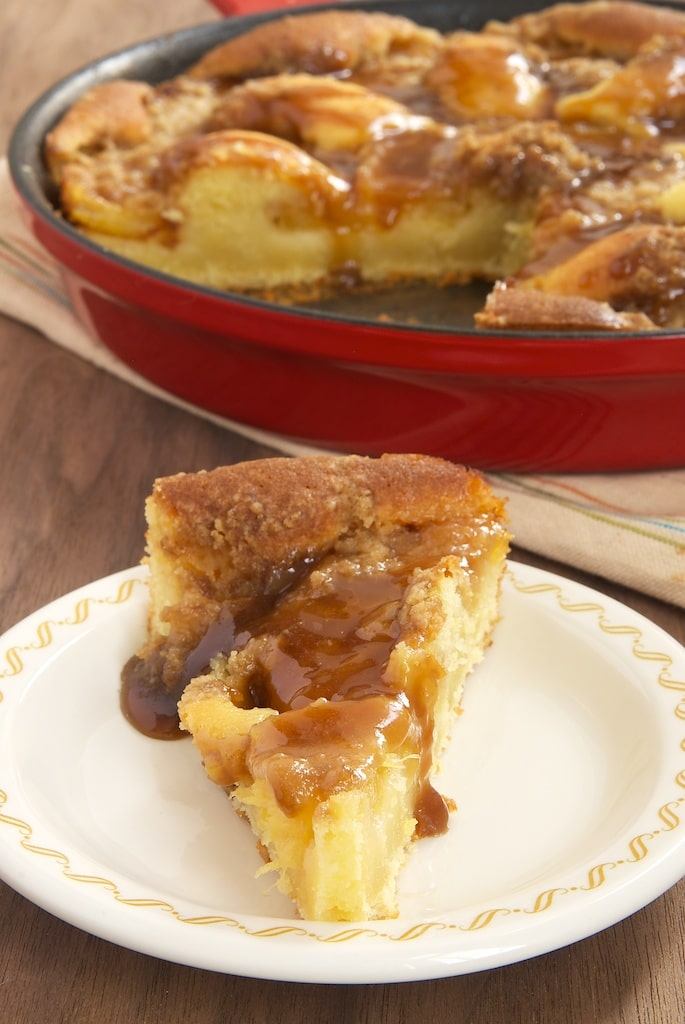 Pineapple Crumb Cake combines pineapple and caramel for an irresistible dessert.