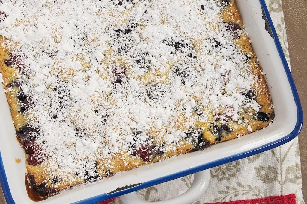 Berry Pudding Cake   Bake or Break