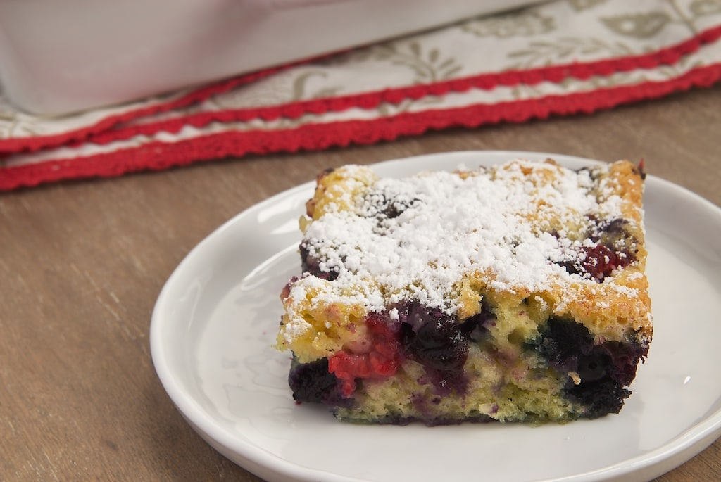 Berry Pudding Cake | Bake or Break