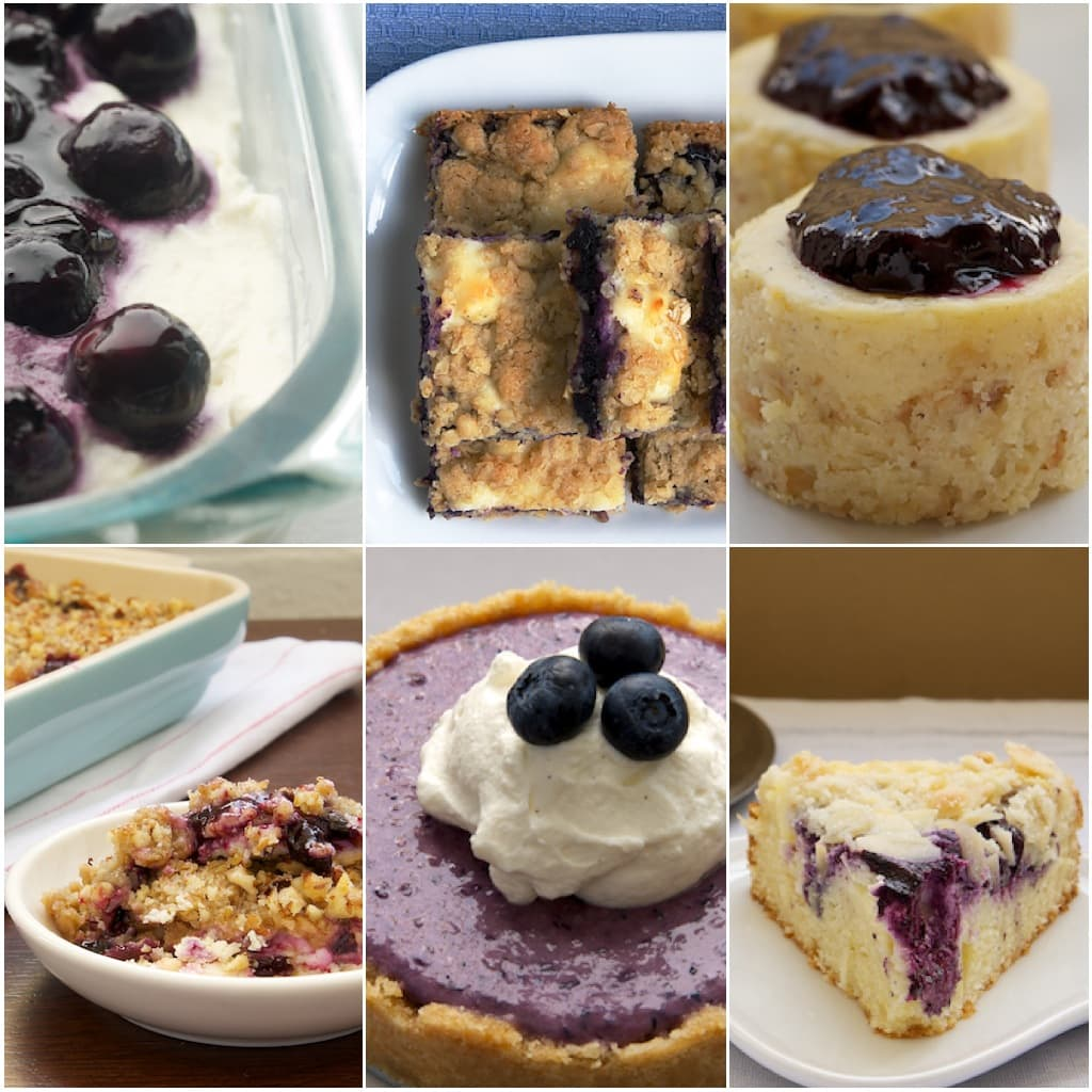 Blueberry and Cream Cheese Desserts | Bake or Break