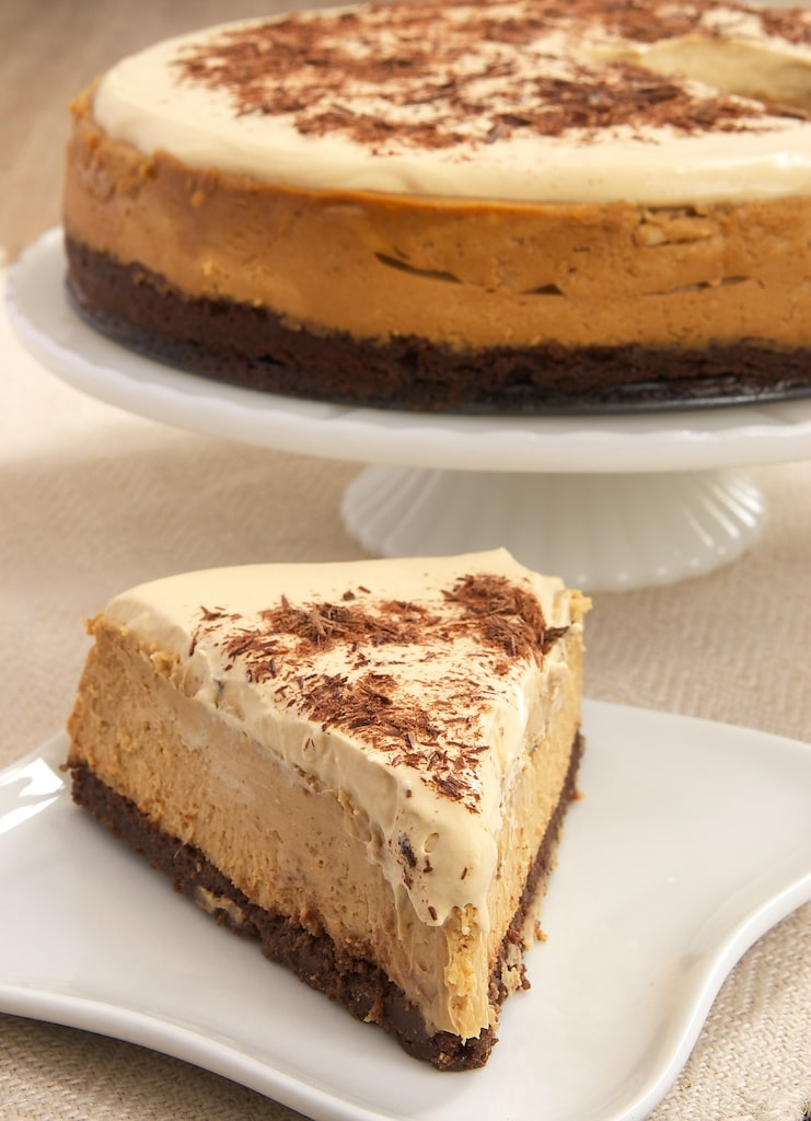 slice of Dulce de Leche Cheesecake