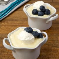 Homemade Vanilla Pudding is cool, creamy, sweet, and delicious. - Bake or Break