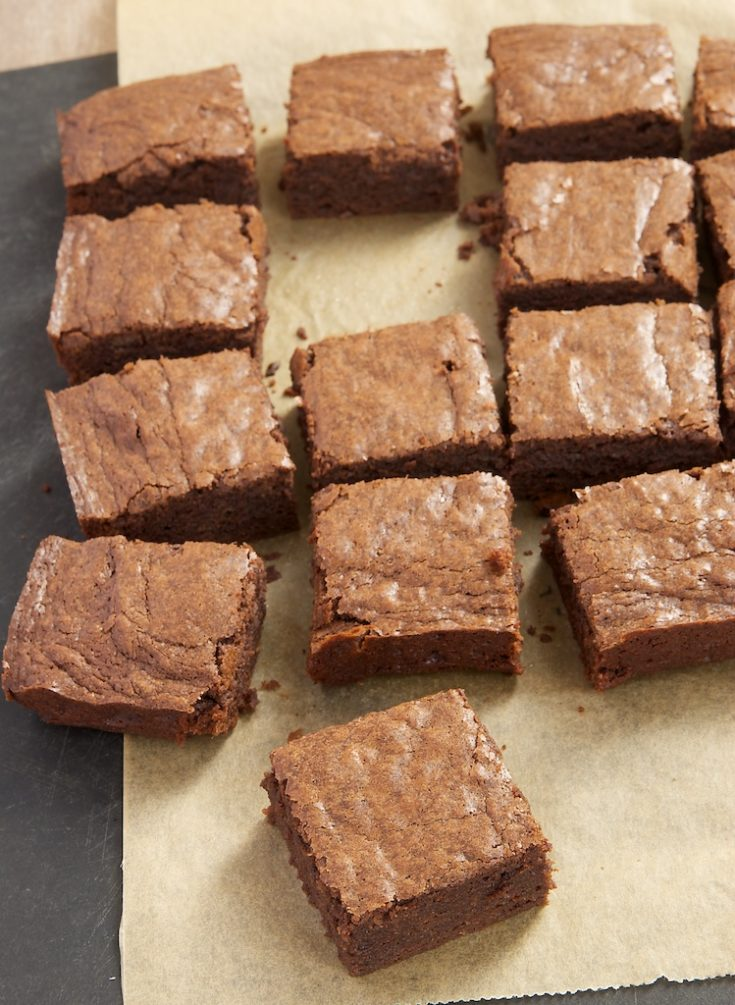 It's hard to beat a batch of freshly baked brownies. My Favorite Fudgy Brownies are rich, dark, and so, so simple to make.