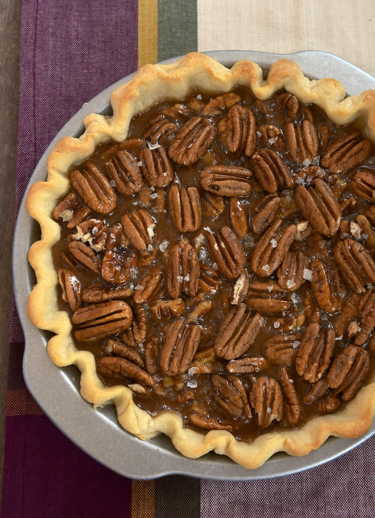 Rich, salty caramel combines makes for an unforgettable pecan pie experience!