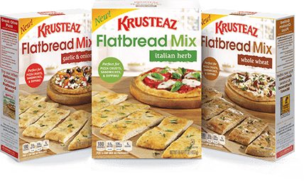 Krusteaz Flatbread Mixes Giveaway | Bake or Break