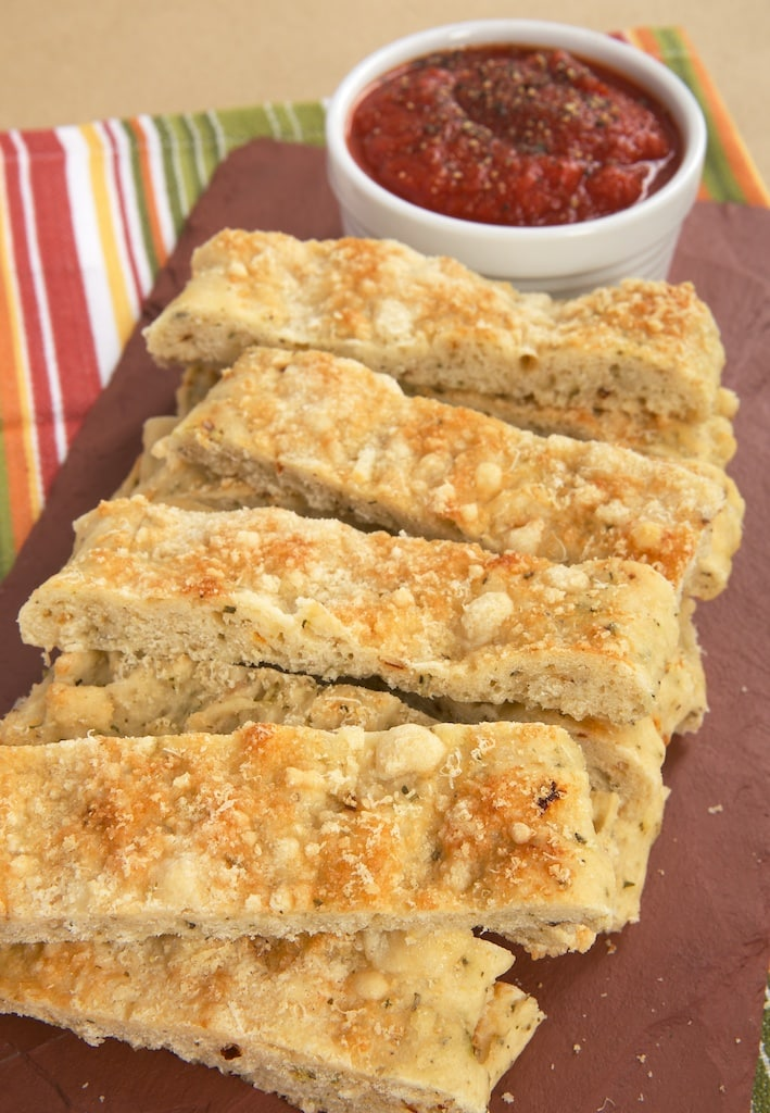 Italian Herb And Cheese Breadsticks Bake Or Break