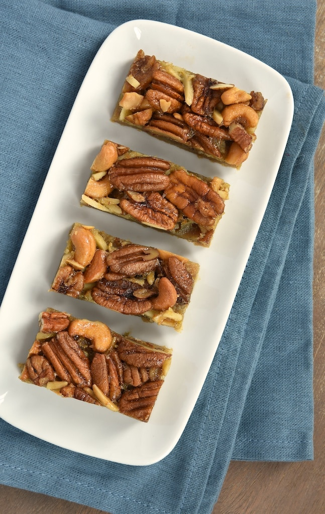 Maple Nut Bars are a delicious twist on pecan pie bars. Maple syrup gives these bars a wonderfully sweet, rich flavor!