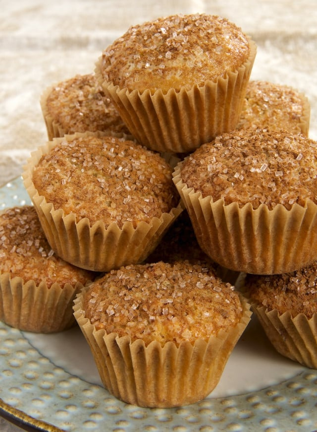Maple Nut Muffins served on a plate