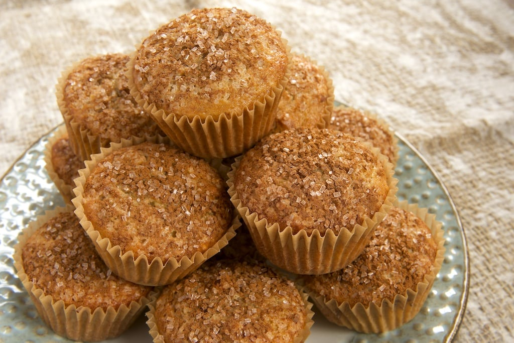 Maple Nut Muffins are the perfect companion to your coffee or tea on a cool fall morning. - Bake or Break