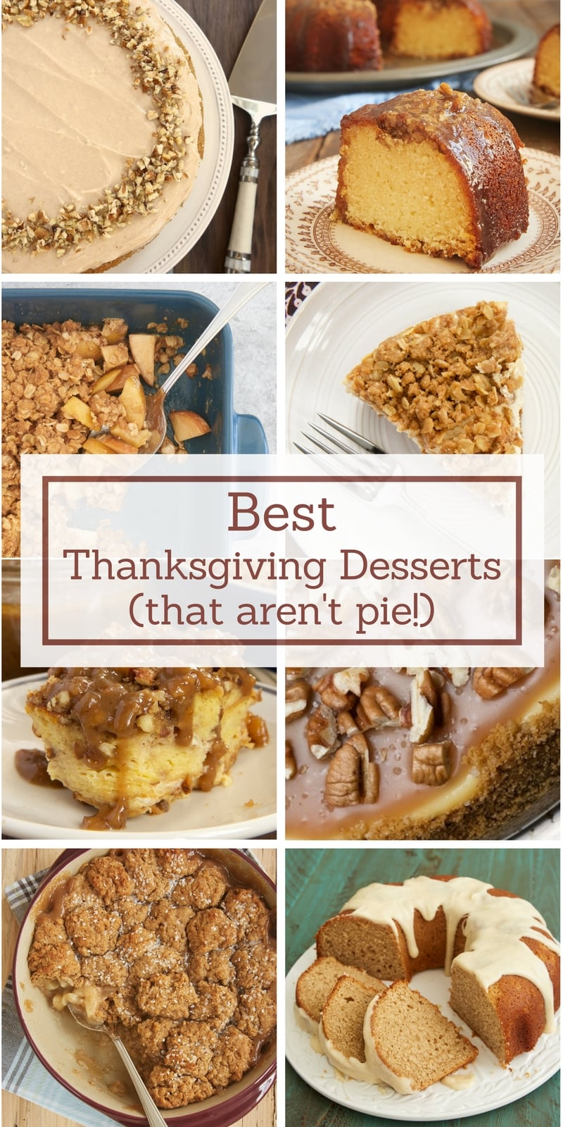 My favorite Thanksgiving dessert recipes! - Bake or Break