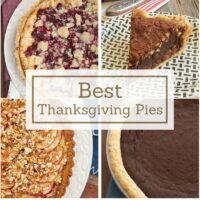 collection of Thanksgiving pie recipes