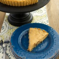 Dulce de Leche Date Cream Pie is a smooth, creamy, rich dessert filled with sweet dates and crunchy pecans.