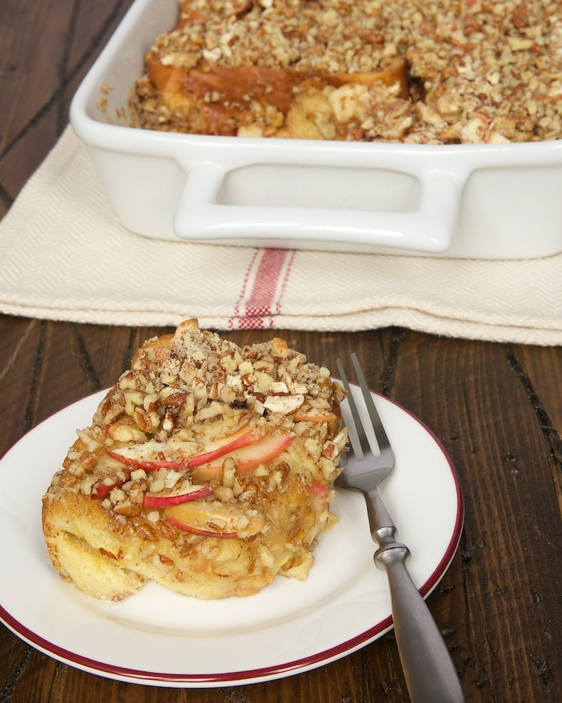 Apple Cinnamon Baked French Toast is a warm, sweet way to make breakfast special!