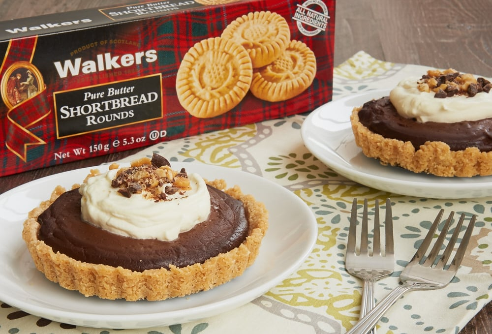 Chocolate, peanut butter, and shortbread make for a delicious and elegant dessert! - Bake or Break