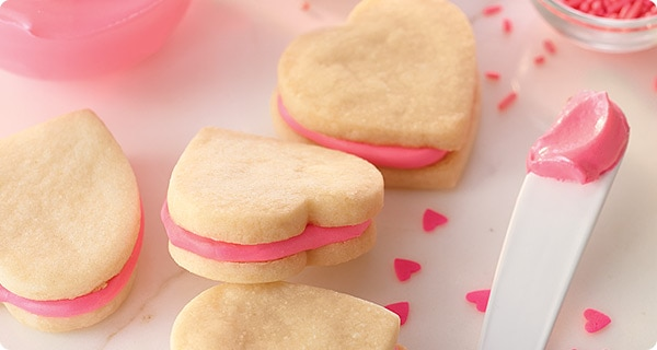 Krusteaz Easy Valentine Sandwich Cookies