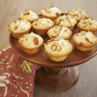 Coconut and almonds star in these delightful Mini Coconut Cakes.