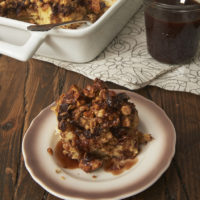 Peanut Butter-Chocolate Bread Pudding is a dessert dream for fans of that classic flavor combination. So simple to put together and so very delicious! - Bake or Break
