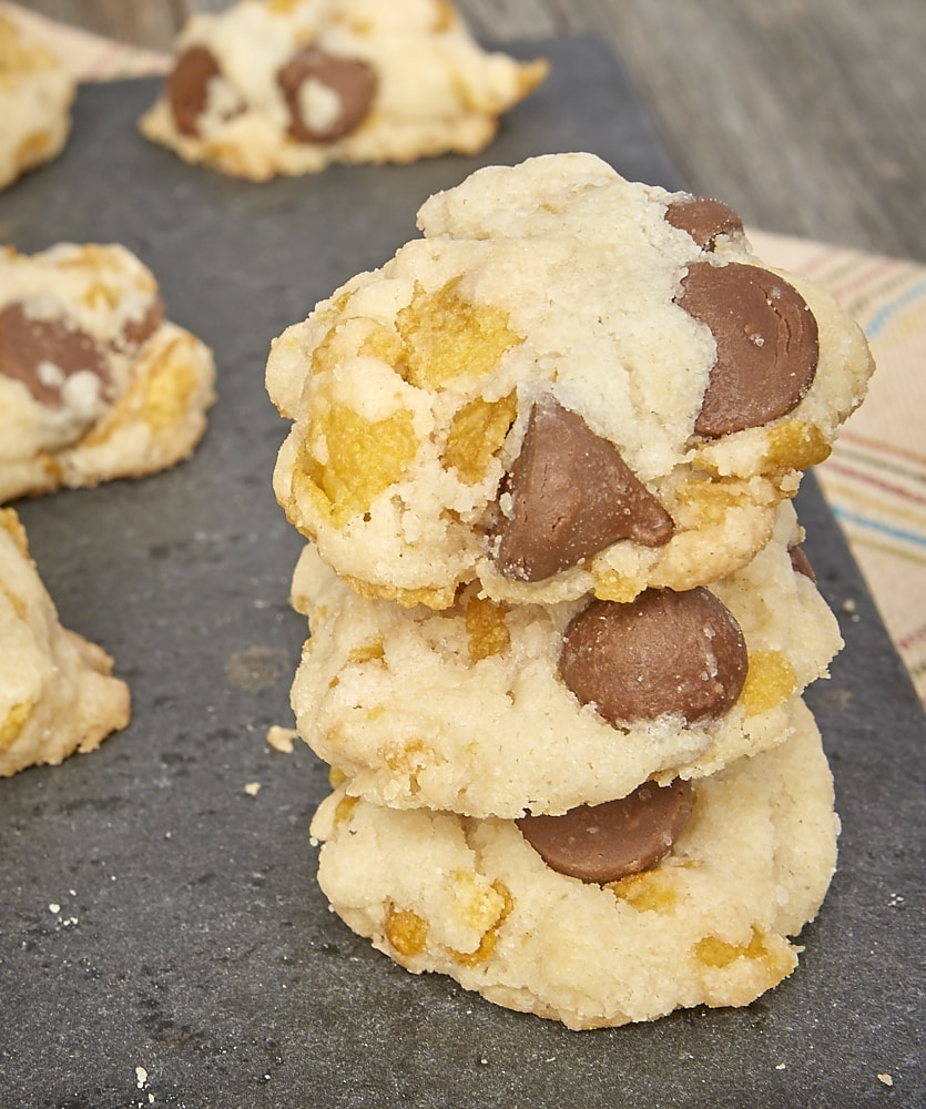 Corn Flake Chocolate Chip Cookies