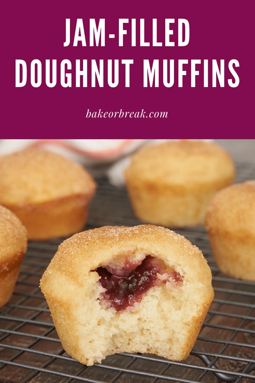 Jam-Filled Doughnut Muffins bakeorbreak.com