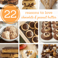 22 Reasons to Love Chocolate and Peanut Butter bakeorbreak.com