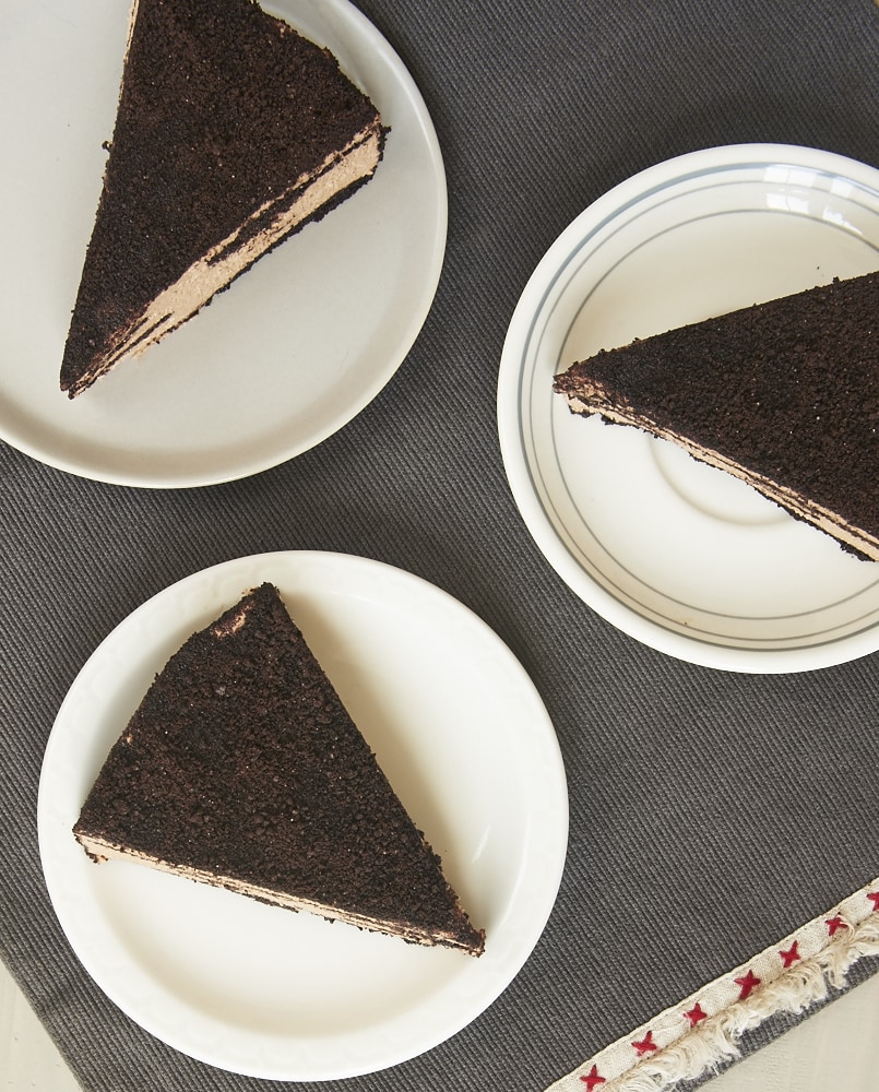 You only need THREE ingredients to make this luscious Icebox Chocolate Cheesecake! - Bake or Break