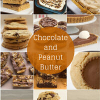 Love chocolate and peanut butter? Then you'll love this collection of desserts that celebrate that delicious pair! - Bake or Break
