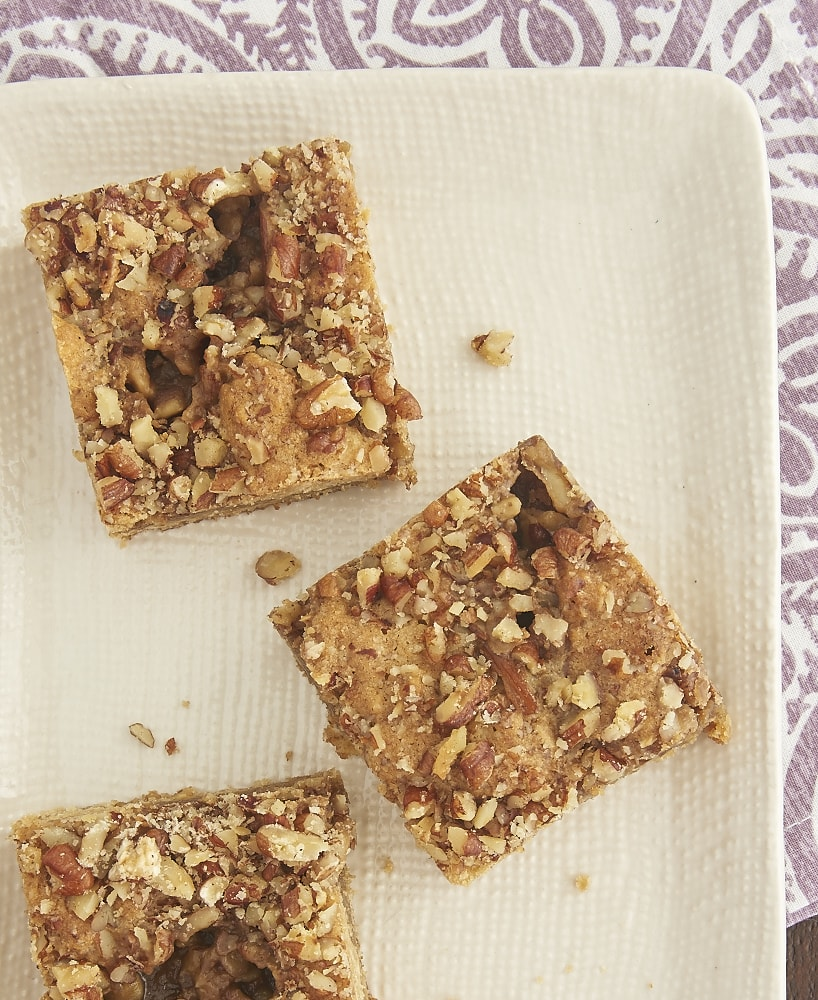 If you love sweet, gooey, chewy, messy desserts, then you'll find these Oatmeal Butterscotch Bars irresistible! - Bake or Break