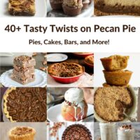 40+ Twists on Pecan Pie
