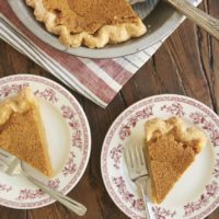slices of Brown Butter Chess Pie