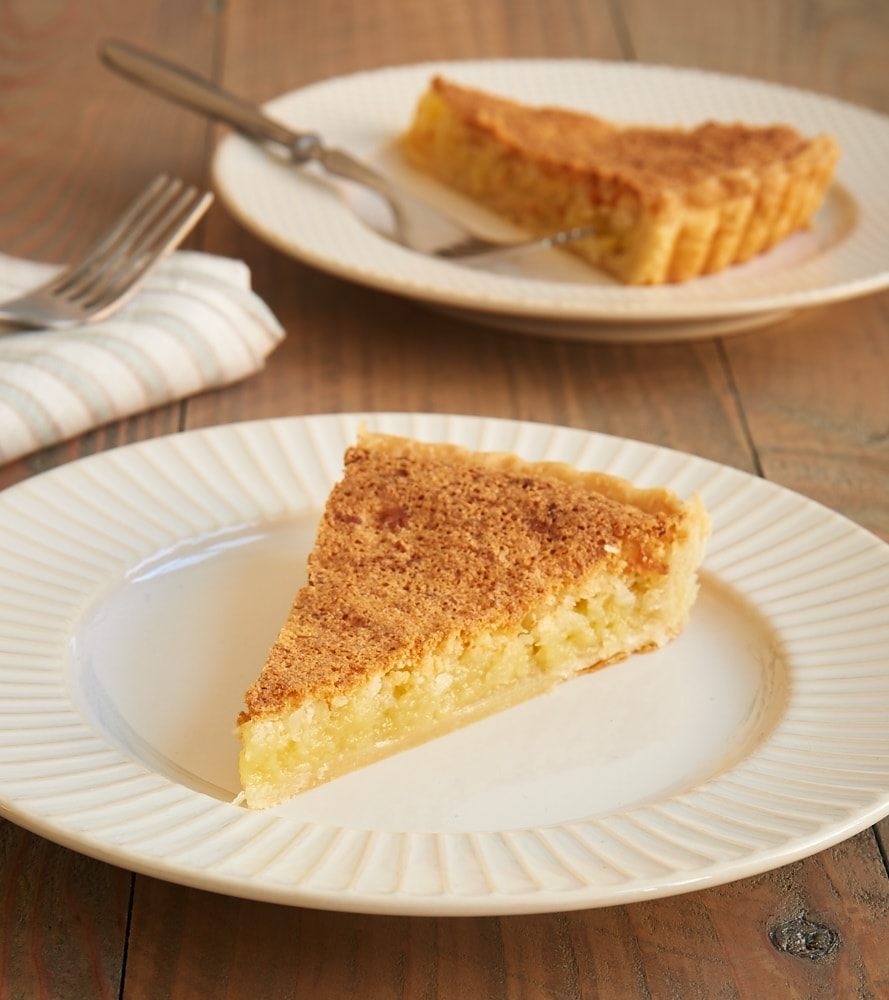 Coconut lovers will want to devour this sweet, chewy Macaroon Tart! - Bake or Break