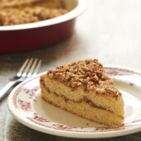 You will love this nutty, subtly sweet Brown Butter Pecan Coffee Cake. The perfect sweet treat for your coffee break or sweet ending for a brunch! - Bake or Break